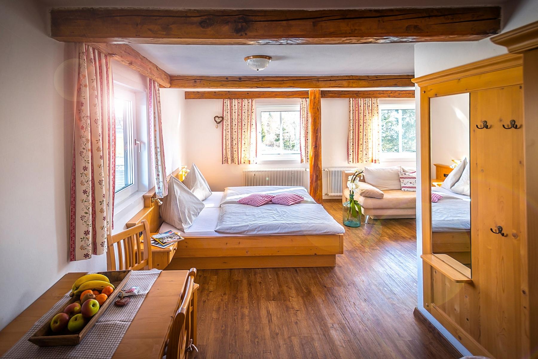 Doppelzimmer mit Blick auf den Dachstein